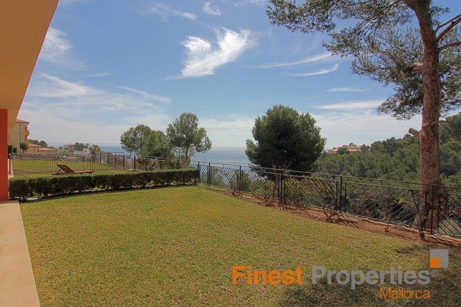 Zu Mieten: moderne, gepflegte Erdgeschoss-Wohnung in Sol de Mallorca